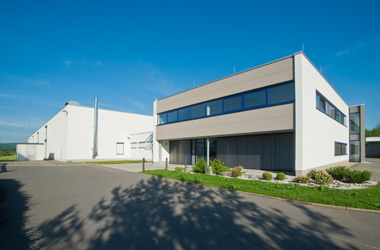 Outside view of SPIGA GmbH in Falkenau